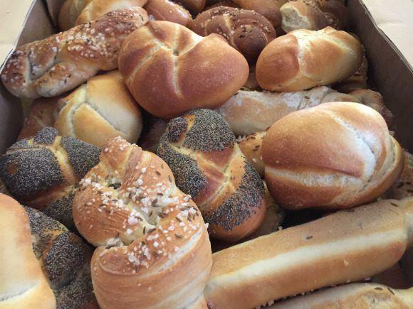 Bread rolls that we made in Vienna Photo: Heatheronhertravels.com