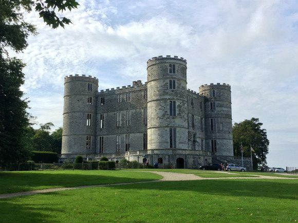 Lulworth Castle in Dorset Photo: Heatheronhertravels.com