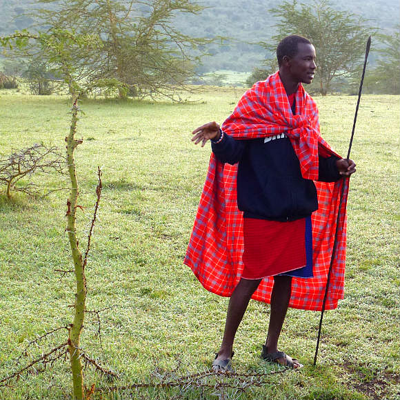 Maasai guide in Kenya Photo: Audley Travel