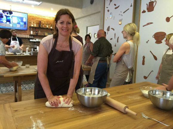 Bread making class in Vienna with Avalon Photo: Heatheronhertravels.com