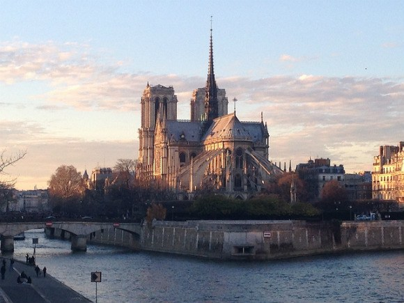Notre Dame Cathedral in Paris Photo: Heatheronhertravels.com