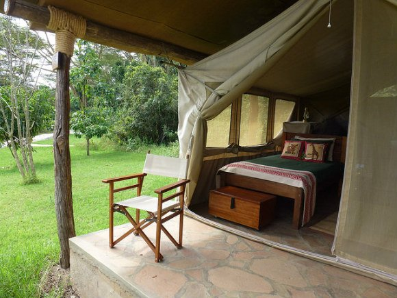 Tent at Bogani Photo: Audley Travel