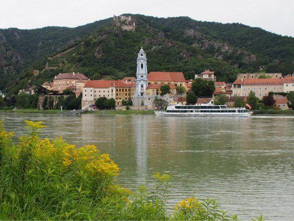 The Danube at Durnstein in Austria Photo: Heatheronhertravels.com