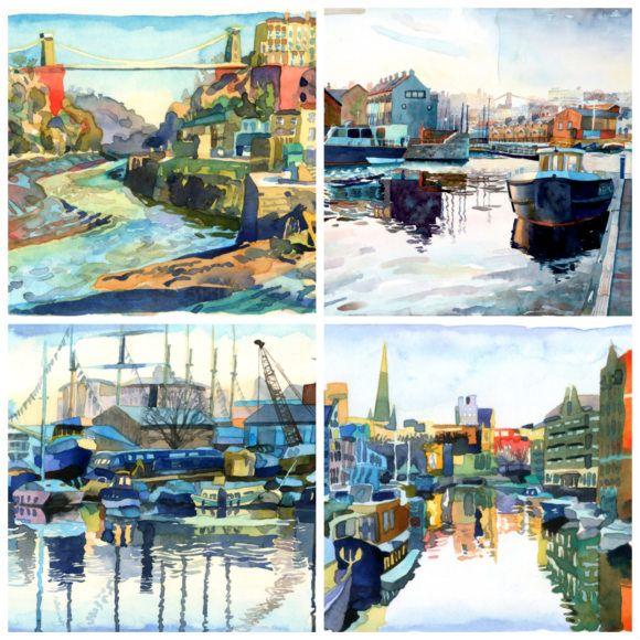 Abigail McDougall Bristol Watercolours