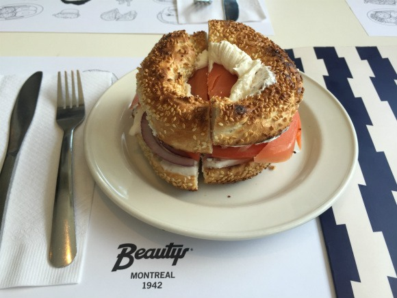 Beauty's Bagel in Montreal Photo: Heatheronhertravels.com
