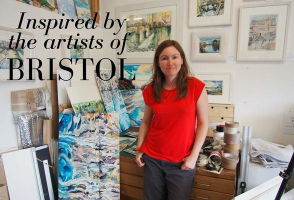 Inspired by Bristol artists at the Affordable Art Fair
