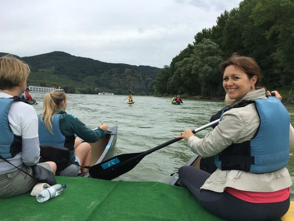 Canoe trip on the Danube with Avalon Waterways Photo: Heatheronhertravels.com