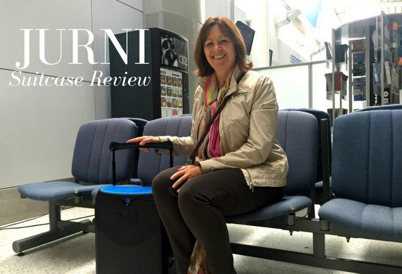 Jurni suitcase – a cool carryon case you can sit on