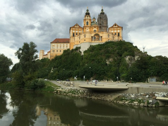 Melk Abbey in Austria Photo: Heatheronhertravels.com