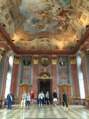 Marble Hall at Melk Abbey, Austria Photo: Heatheronhertravels.com