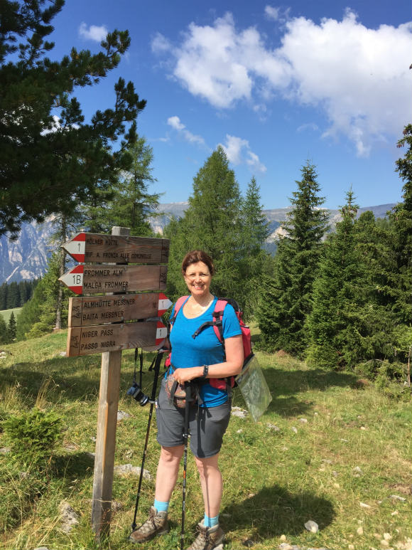 Planning your hiking routes in the Dolomites