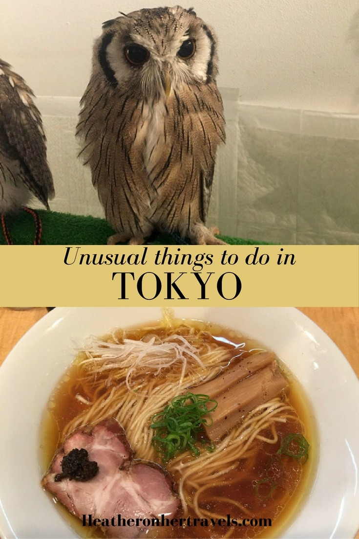 Read about unusual things to do in Tokyo