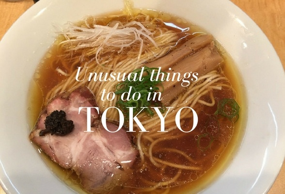 Unusual things to do in Tokyo
