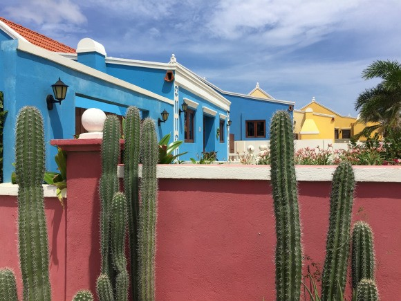 Coloured houses of Aruba Photo: Heatheronhertravels.com