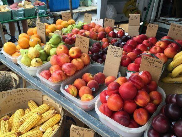 Farmer's market in Kingston, Ontario pHoto: Heatheronhertravels.com