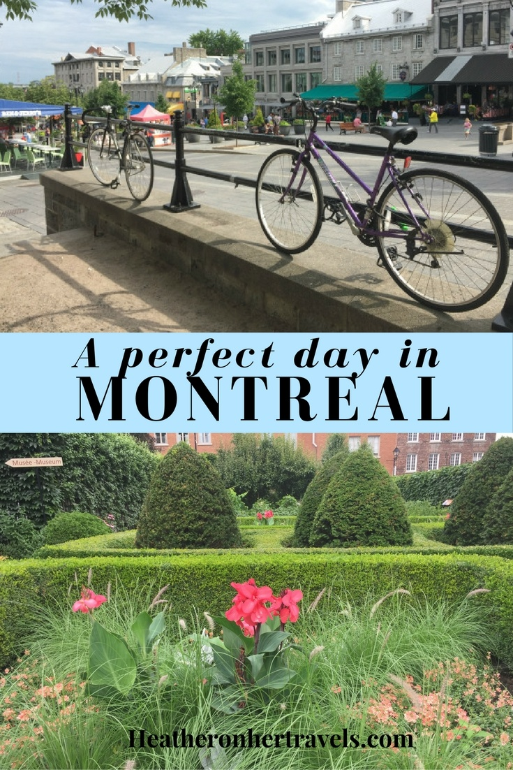 Read about a perfect day in Montreal