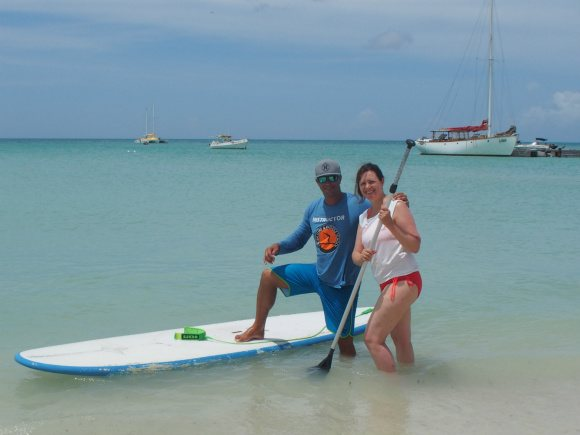 Paddleboarding in Aruba Photo: Heatheeronhertravels.com