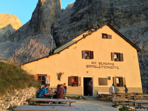 Rifugio Bergamo in South Tyrol Photo: Heatheronhertravels.com