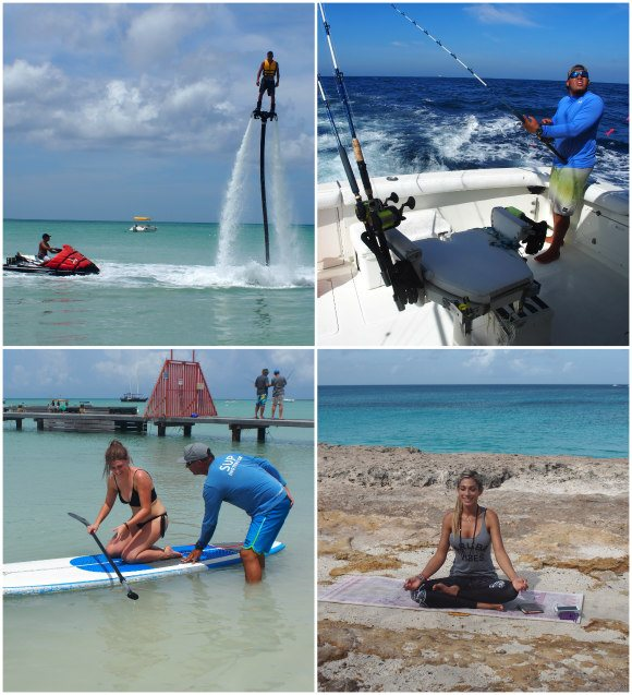 Sports and fitness on Aruba Photo: Heatheronhertravels.com