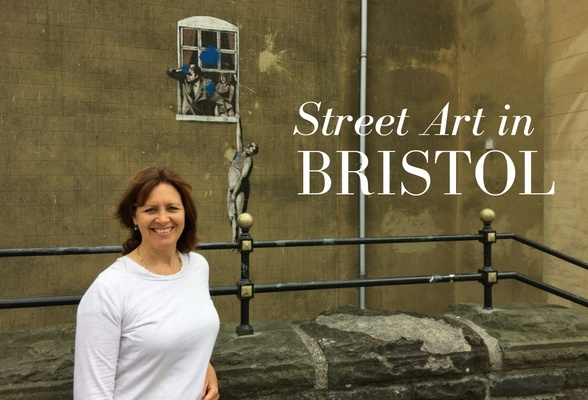 Street art in Bristol Photo: Heatheronhertravels.com