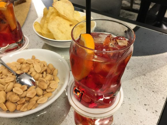 Negroni at Hotel Balestri Photo: Heatheronhertravels.com