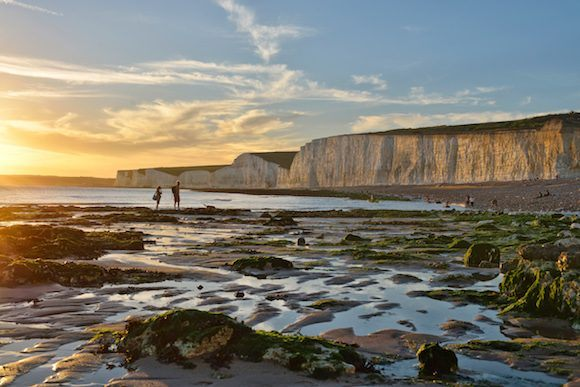 Birling Gap Beach close to Eastbourne Photo: Visit Eastbourne