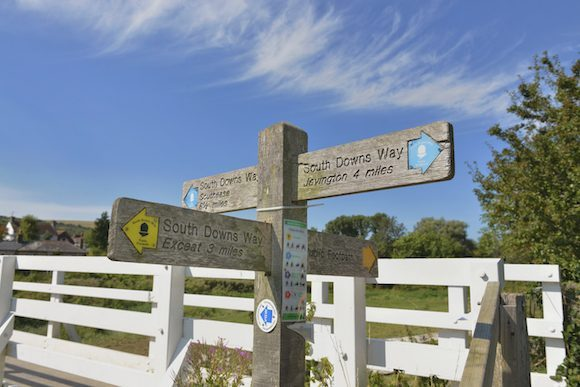 Walking the South Downs Way from Eastbourne Photo: Visit Eastbourne