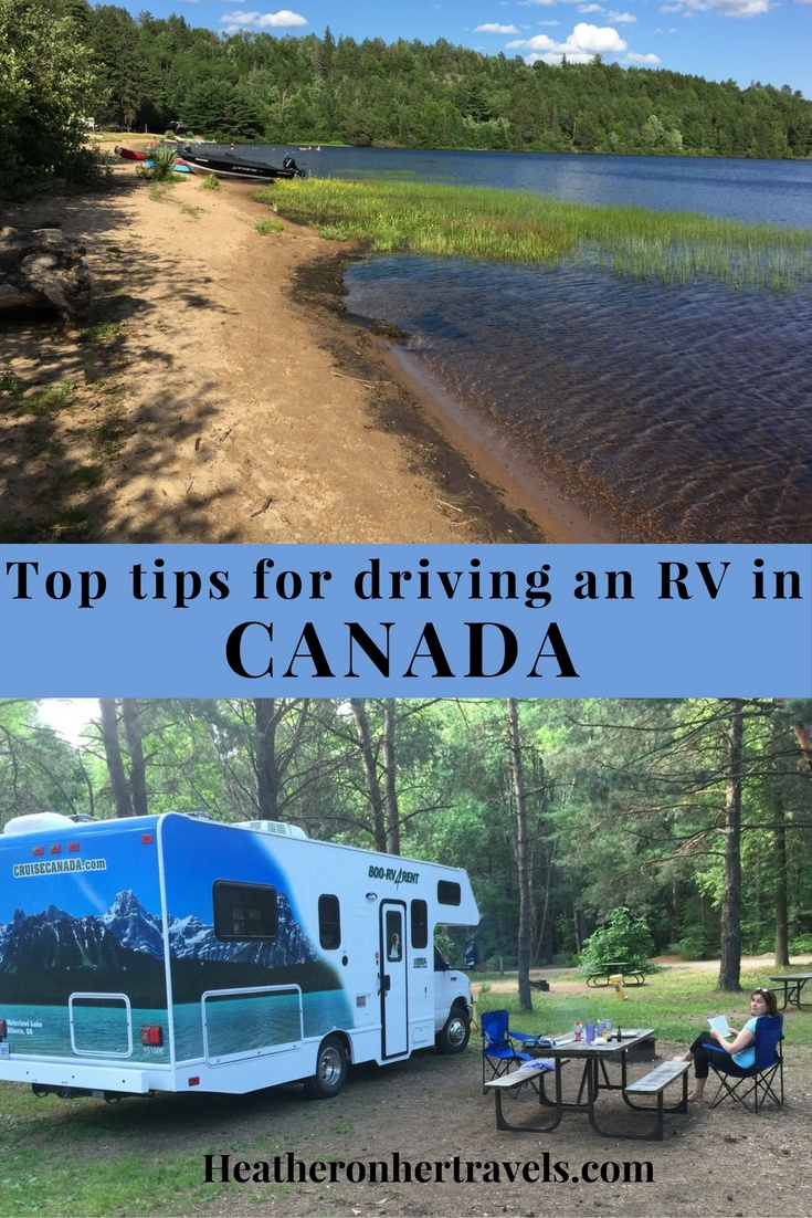 Rv: Tips For Driving An RV From Toronto To Montreal