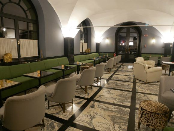 Hotel Balestri bar in Florence Photo: Heatheronhertravels.com