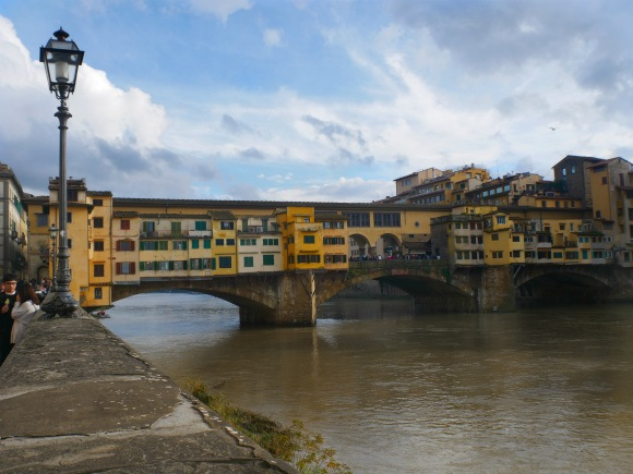 Ponte Vecchio in Florence Photo: Heatheronhertravels.com