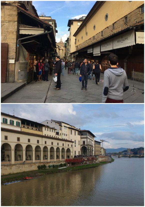 Ponte Veccio in Florence Photo: Heatheronhertravels.com