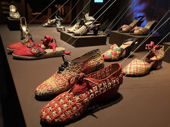 Shoes at the Ferragamo Museum
