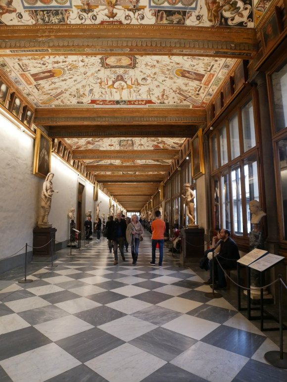 Uffizi in Florence Photo: Heatheronhertravels.com