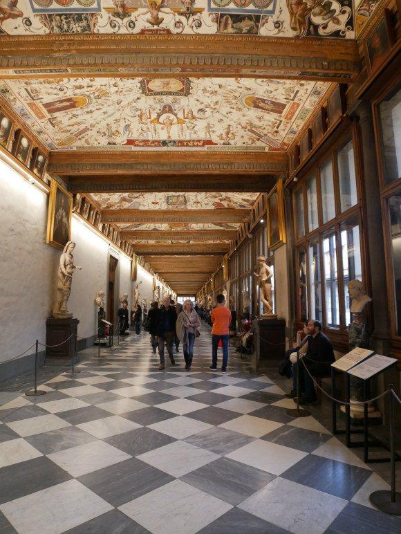 Uffizi in Florence Photo: Heatheronhertravels.com