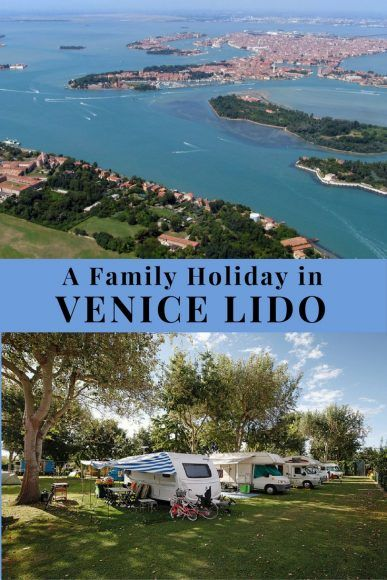 Read about a family holiday in Venice Lido