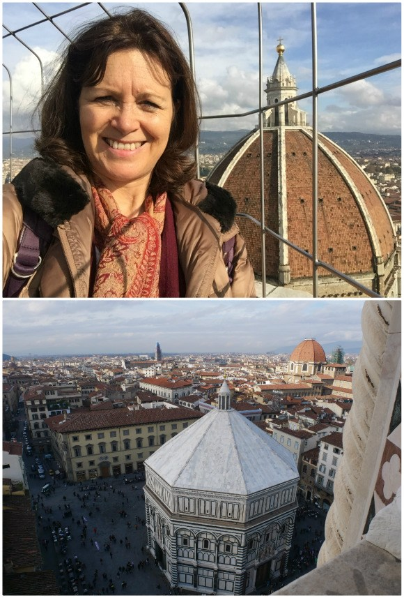View from the Campanile in Florence