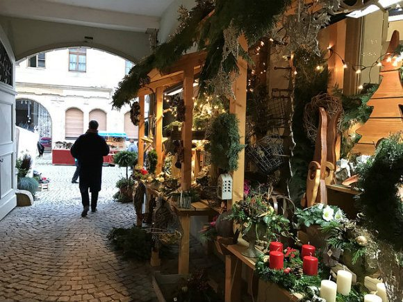 Advent Market in Seßlach, Germany Photo: Heatheronhertravels.com