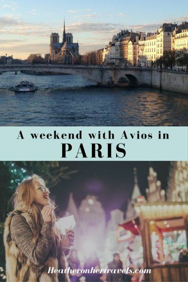 Read about a weekend in Paris with Avios