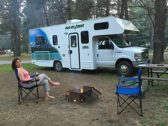 Camping in Algonquin Provincial Park Photo: Heatheronhertravels.com
