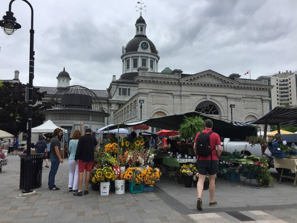 Farmer's Market at Kingston, Ontario, Canada Photo: Heatheronhertravels.com