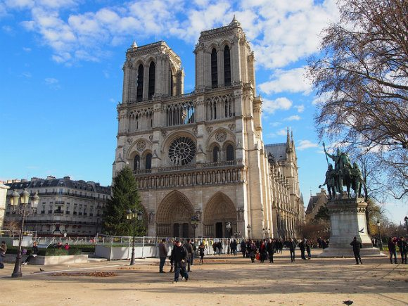 Notre Dame Cathedral, Paris Photo: Heatheronhertravels.com