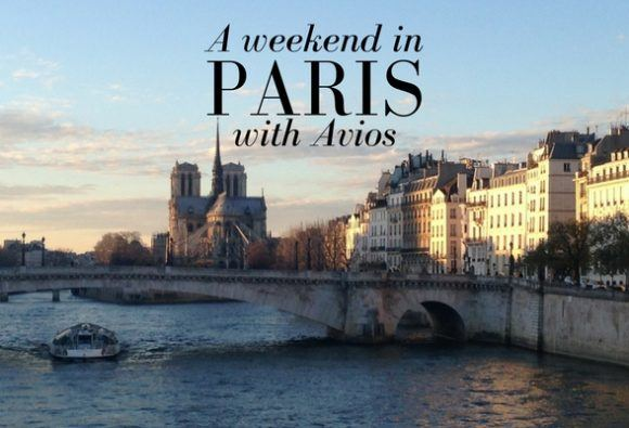 A weekend in Paris with Avios