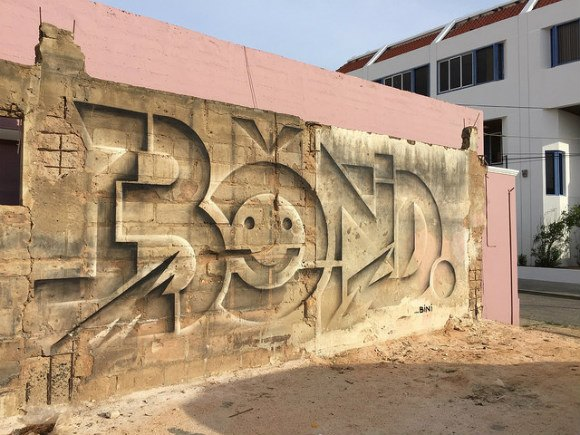 Street Art in San Nicholas, Aruba - by Bond Truluv from Germany Photo: Heatheronhertravels.com