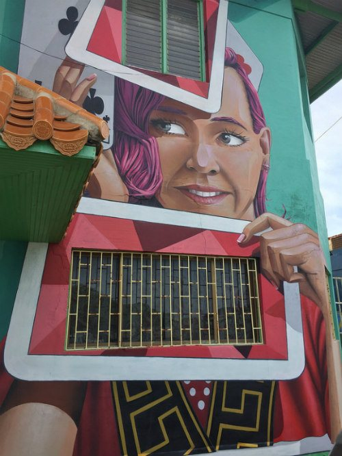 Street Art in San Nicholas, Aruba Photo: Heatheronhertravels.com