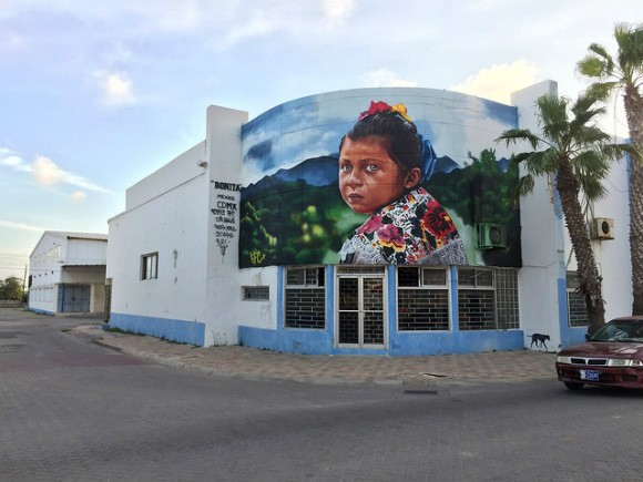 Street Art in San Nicholas, Aruba by Street-art Chilango Photo: Heatheronhertravels.com