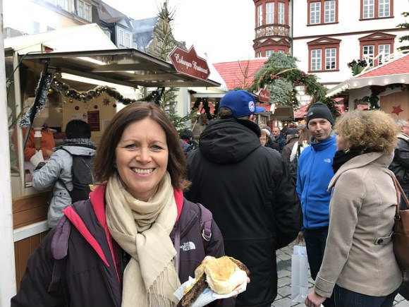 The Coburg Bratwurst in Coburg, Germany Photo: Heatheronhertravels.com