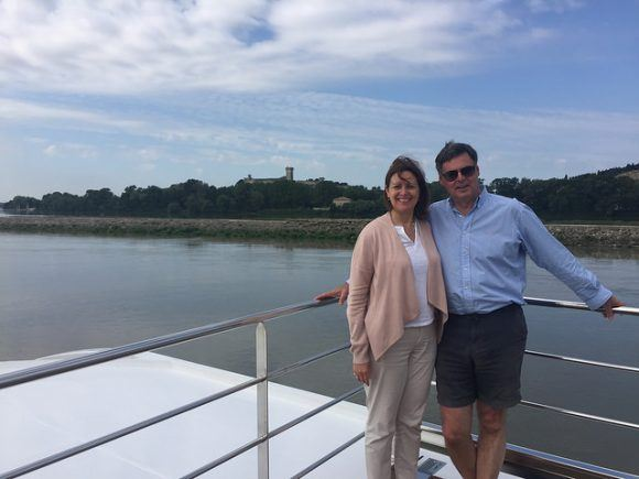 On a Burgundy river cruise