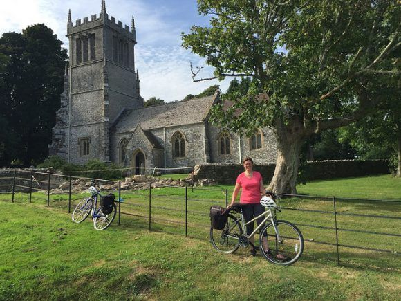 Cycling in Dorset Photo: Heatheronhertravels.com