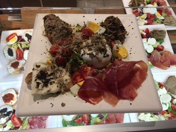 Truffle Platter in Florence