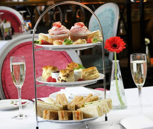 Afternoon tea at The Grand Cafe in Southampton Photo: Grand-cafe.co.uk